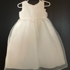 NWT Us Angels Ivory Dress 2T